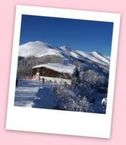 rifugio selletta ski camp maestri di sci red & white