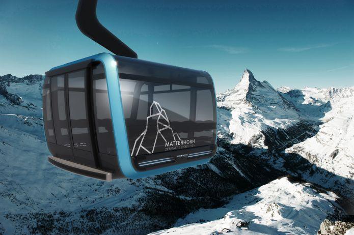 Inaugurazione della cabinovia trifune più alta d'Europa, permetterà di salire al Piccolo Cervino