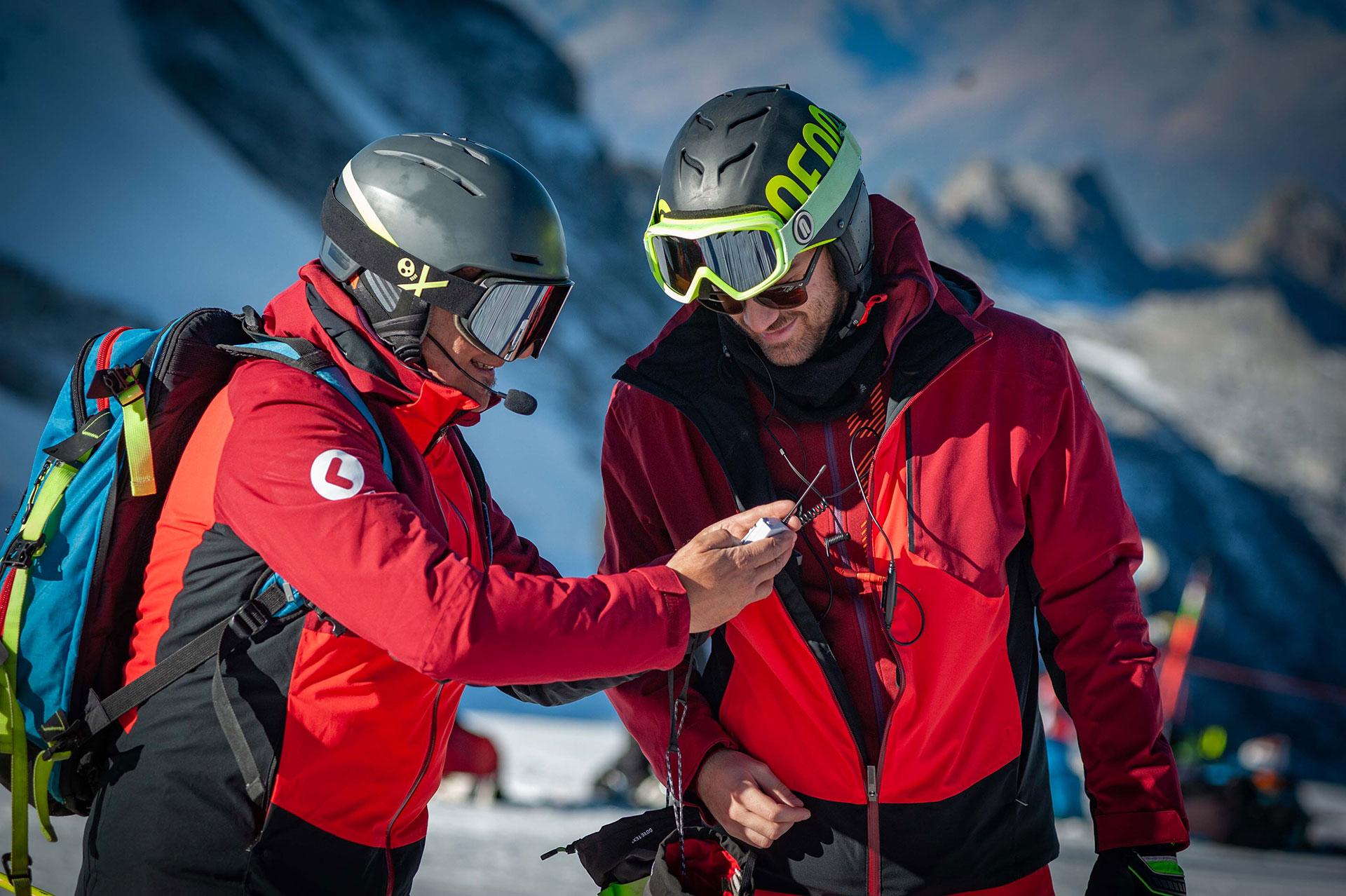 ski training microfono